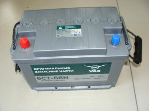 Аккумулятор 6СТ-66А3 Исток