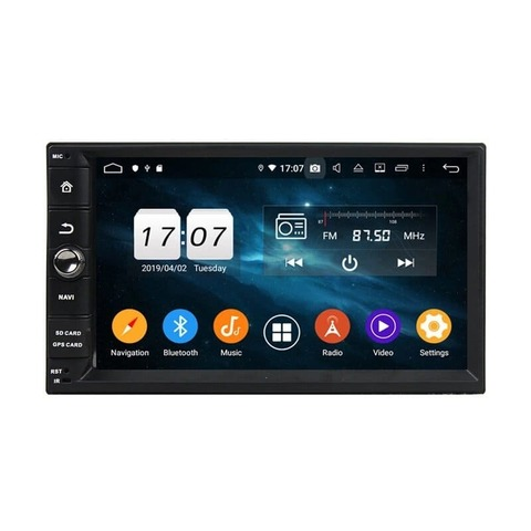 Автомагнитола 2DIN  Android 9.0 4/64GB IPS DSP модель KD 7099 PX5
