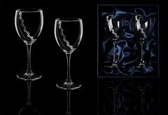 Подарочный набор бокалов для вина «Бриллиантовый»