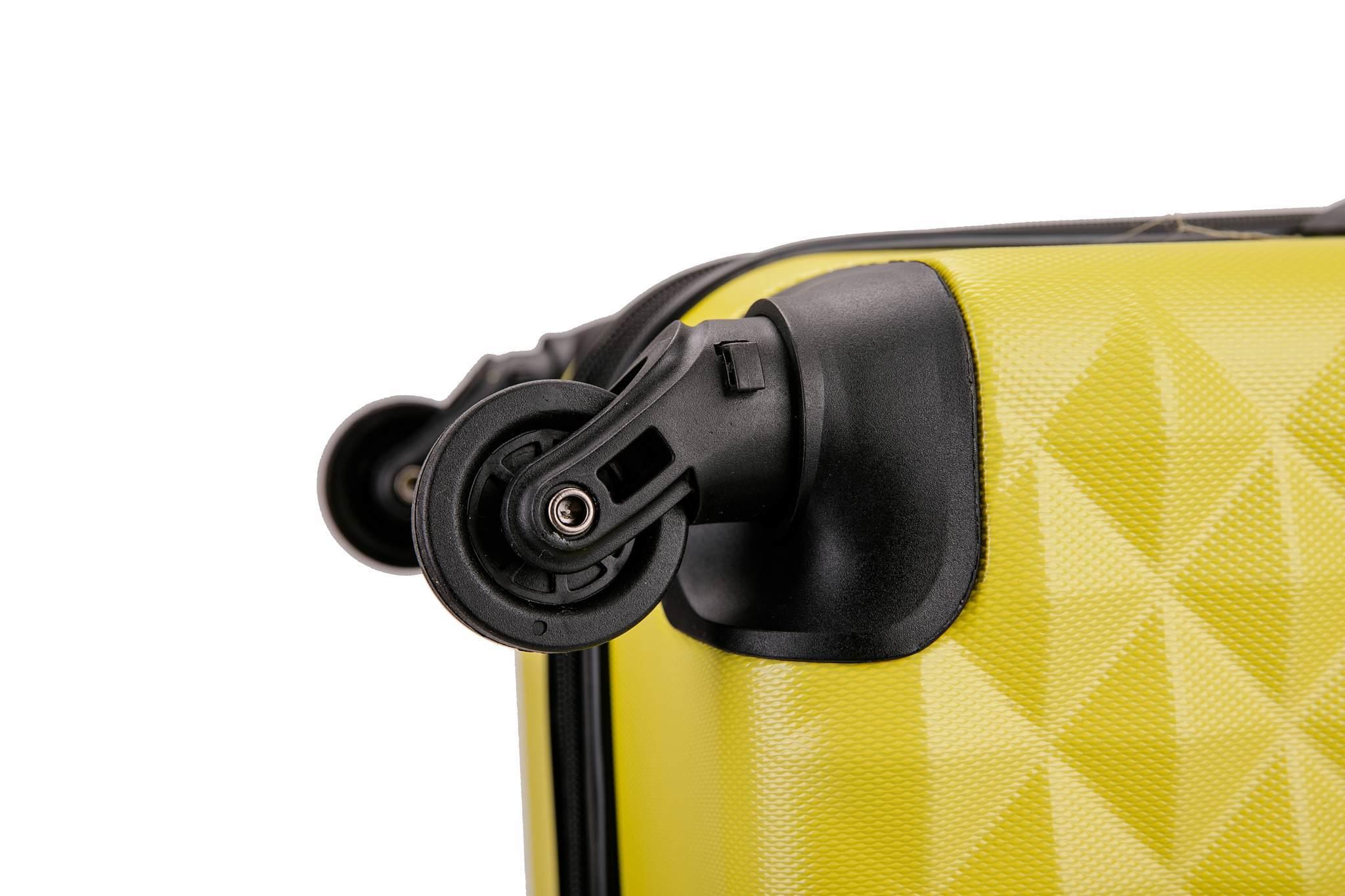 Чемодан с расширением L'case Phatthaya-20 Желтый ручная кладь (S)