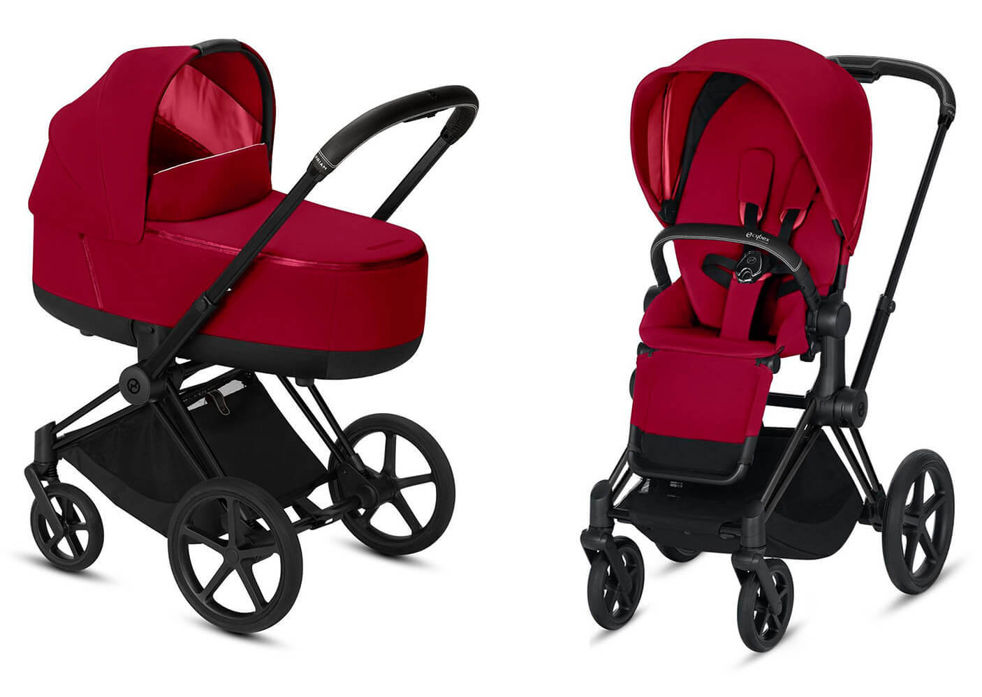 Цвета Cybex Priam 2 в 1 Детская коляска Cybex Priam III 2 в 1 True Red шасси Matt Black cybex-priam-iii-2-in-1-true-red-matt-black.jpg