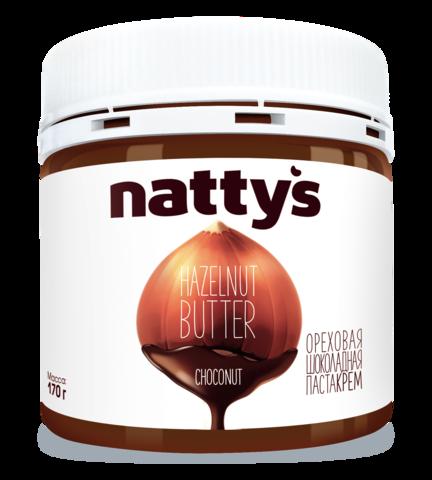 Шоколадно-ореховая крем-паста NATTY'S 170 г