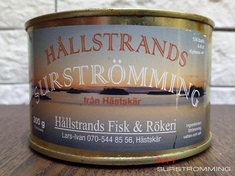 Сюрстремминг Hallstrands в банке
