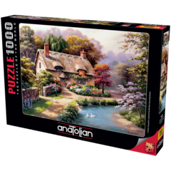 Puzzle Patikadaki Konak. Duck Path Cottage 1000 pcs