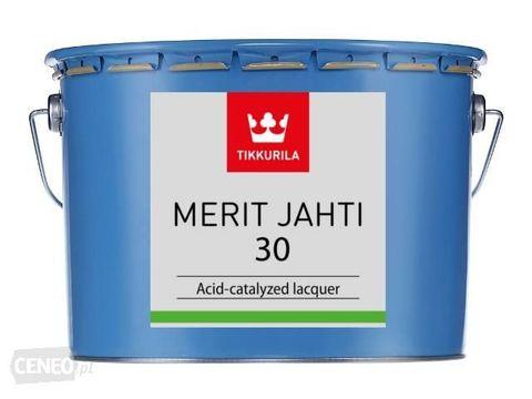 Tikkurila Merit Jahti 30/Тиккурила Мерит Яхти 30 однокомпонентный полуглянцевый уретано-алкидный лак для внутренних и наружных работ