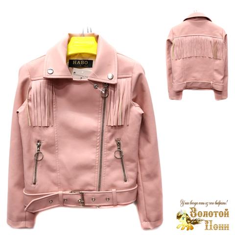 Куртка экокожа девочке (6-11) 200305-T1902.2