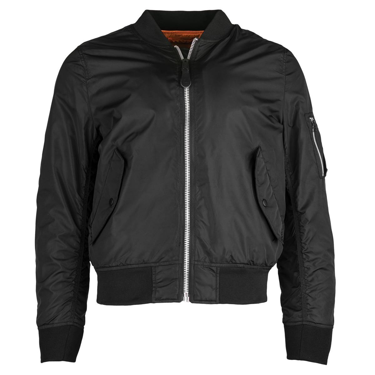 Куртка Бомбер L-2B Scout Alpha 2017 (черная - black)