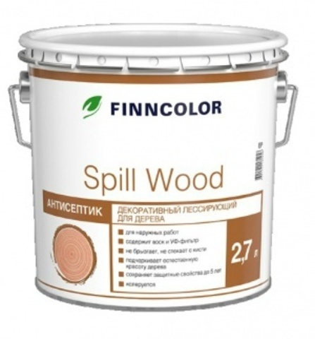 Finncolor Spill Wood/Финнколор Спил Вуд антисептик