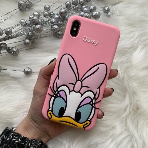 Чехол силиконовый iPhone X/XS MAX /daisy/