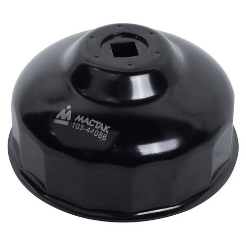 МАСТАК (103-44086) Съемник масляных фильтров, 86 мм, 16 граней, торцевой