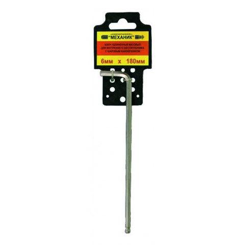 Шестигранный ключ 6 мм ЭНКОР