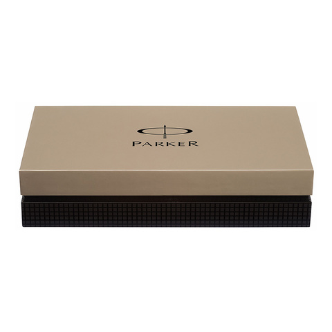 Parker Premier - Deluxe Graduated Chiselling GT, перьевая ручка, F