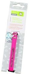Ошейник для кошек со стразами кожзам розовый, Hunter Smart Modern Luxus
