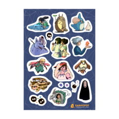 Набор стикеров Studio Ghibli #2