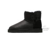 UGG Mini Bailey Button Metallic Black