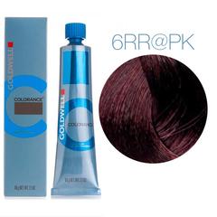 Goldwell Colorance  6RR@PK (волнующий красный с розовым сиянием) - тонирующая крем-краска
