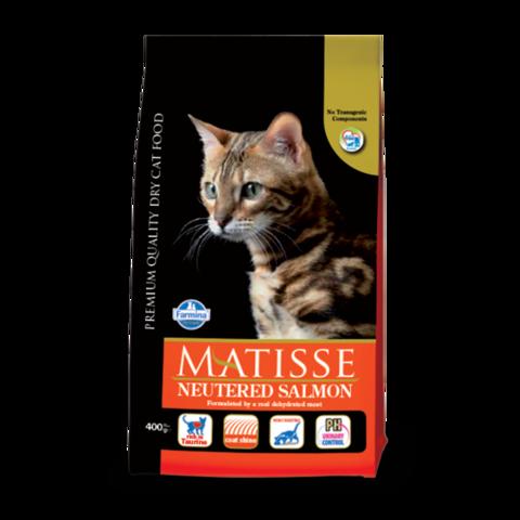 Farmina Matisse Neutered Salmon Сухой корм для стерилизованных кошек и кастрированных котов с Лососем