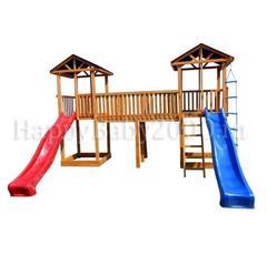 Детская площадка М20-2 с тентовыми крышами