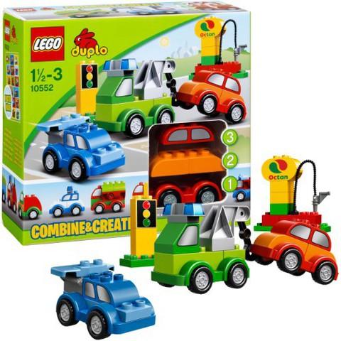 LEGO Duplo: Машинки-трансформеры 10552 — Creative Cars — Лего Дупло