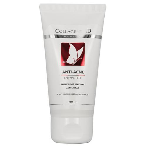 Энзимный пилинг ANTI-ACNE для проблемной кожи, Medical Collagene 3D