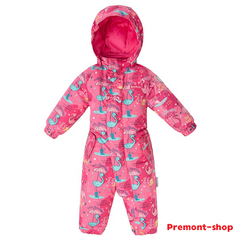 Premont демисезонный комбинезон Фламинго SP71021