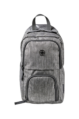 Рюкзак Wenger Urban Contemporary, с одним плечевым ремнем, темно-cерый, 19х12х33 см, 8 л