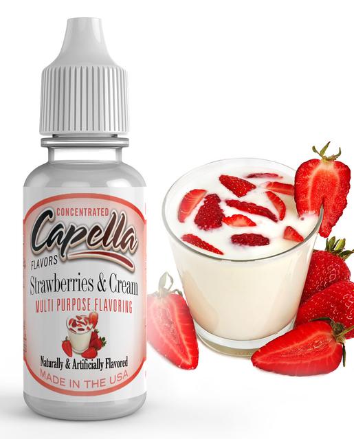 Ароматизатор Capella  Strawberries & Cream