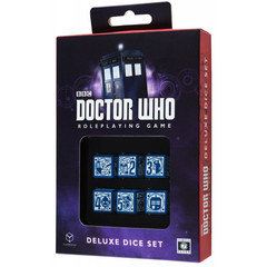 Doctor Who 6D6 RPG Deluxe Dice set (6)