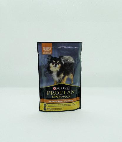 Pro Plan пауч для взрослых собак с чувствительным пищеварением лосось 100г