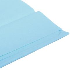 Бумага тишью голубая 76 х 50 см, 10 листов 28 г/м
