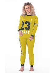 TK419-3 костюм женский, желтый