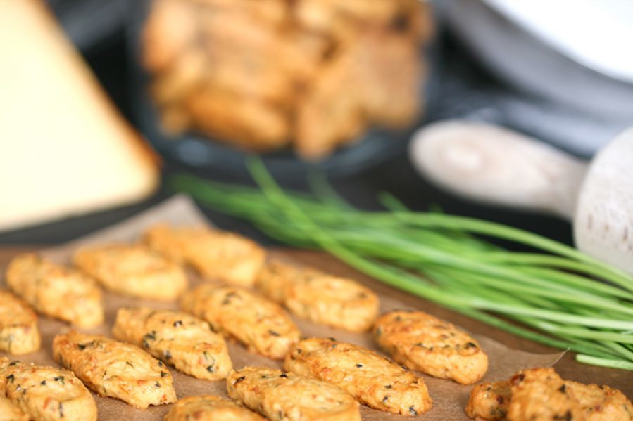Печенье Buiteman c сыром гауда и луком 75г