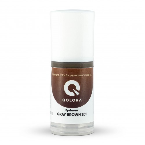 Пигмент Qolora Gray Brown 201