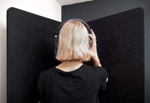 Акустический экран  из полиэифирного волокна POLYSTER XL 180x180x20mm, 180x120x20mm