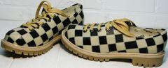 Женские туфли на низком ходу Goby TMK6506
