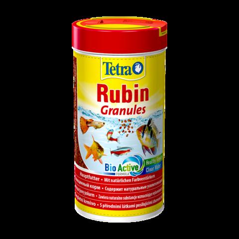 TetraRubin Granules Сухой корм для рыб для усиления естественной окраски гранулы