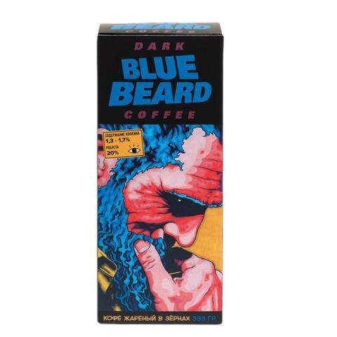 Подарочный набор  Синяя борода/BLUE BEARD. Выпуск #1 Кофеин. (кофе в зернах 333гр, комикс, открытка, магнит, бокс)
