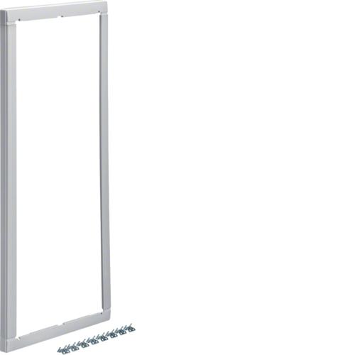 Повышающая наружная рамка без дверцы 25мм, Volta 4-рядный RAL9010