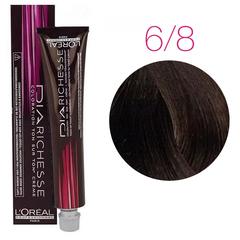 L'Oreal Professionnel Dia Richesse 6.8 (Темный блондин мокка) - Краска для волос