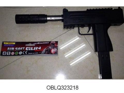 СПЕЦЦЕНА Пистолет пневм 323218 с глушителем в пак/НСМ304-2