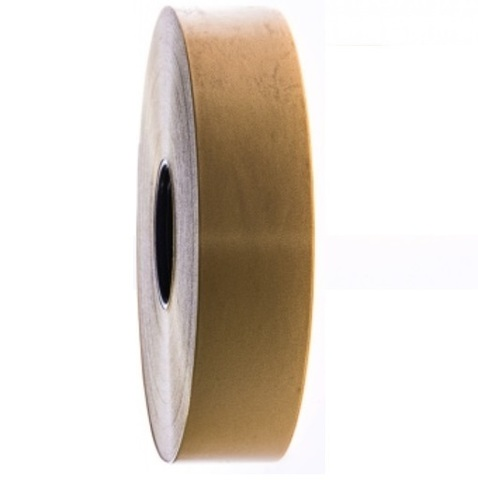 Лента полипропиленовая (размер: 30 мм х 100 м), цвет: золотой