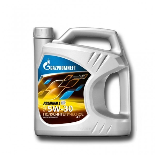 Gazpromneft Premium L 5W30 Полусинтетическое моторное масло
