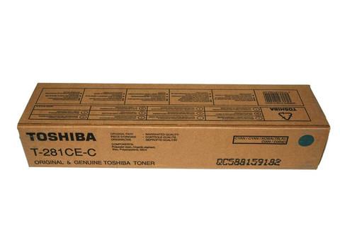 Тонер-картридж Toshiba T-281C-EC 6AK00000046/6AG00000845 голубой
