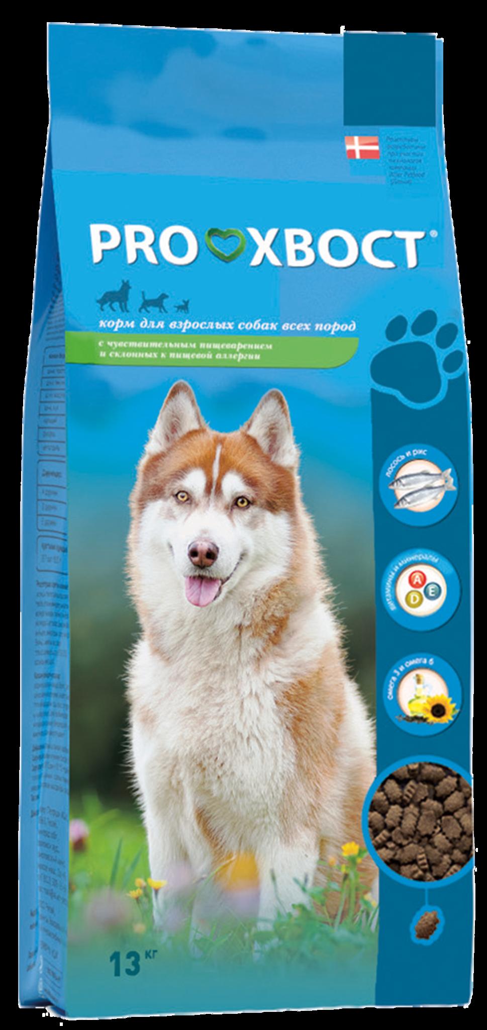 ProХвост Корм ProХвост для собак с лососем и рисом для собак с чувствительным пищеварением и склонных к пищевой аллергии PH_dog_salmon_rice_13.png
