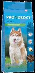 Корм ProХвост для собак с лососем и рисом для собак с чувствительным пищеварением и склонных к пищевой аллергии