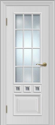 Межкомнатная дверь Louisa 19.5 под стекло (Английская решетка)