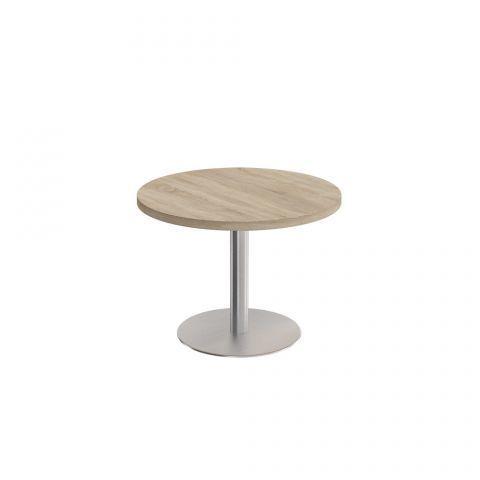 КС 141 Стол для переговоров круглый на опоре-колонне (110x110x75)