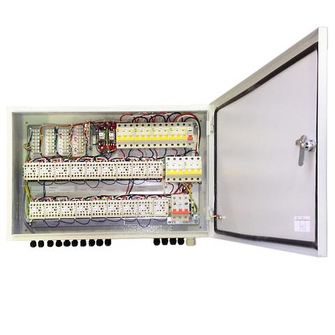 Блок коммутации и управления завес с IP54 БКУ-WA6 Тепломаш для водяных и безнагревных завес