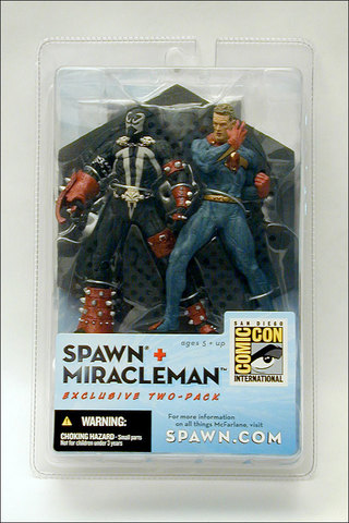 Spawn & Miracleman Exclusive 2-Pack