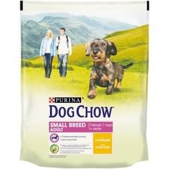 Dog Chow Adult Small Breed для взрослых собак мелких пород с курицей